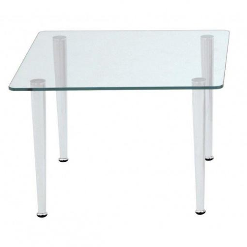 Stůl skleněný QUATTRO čtverec
