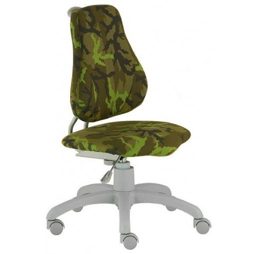 Dětská rostoucí židle FUXO ARMY - z úhlu
