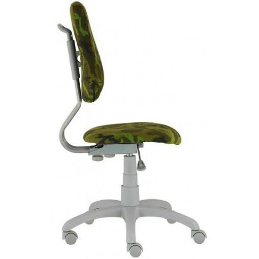 Dětská rostoucí židle FUXO ARMY - zboku