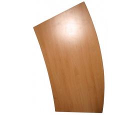 Stolová deska oblouk dezén buk