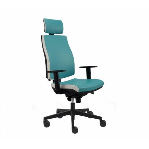 Kancelářská židle JOB - z úhlu (Medical)