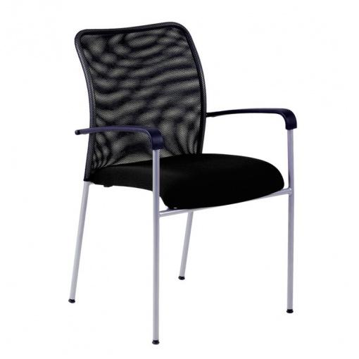 Konferenční židle TRITON NET - černá