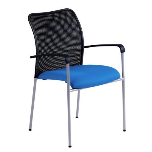 Konferenční židle TRITON NET - modrá