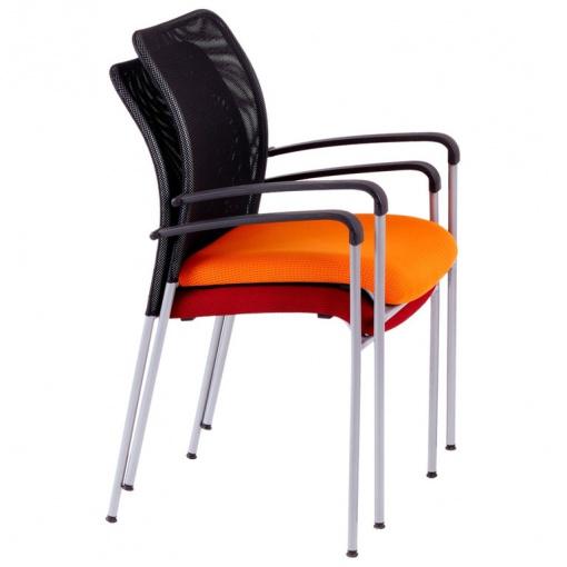 Konferenční židle TRITON NET - stohovatelnost