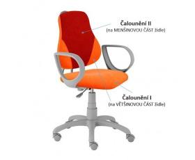 Dětská rostoucí židle FUXO V-LINE