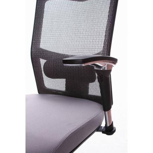 Síťovaná židle Emagra X5 - detail područek 1B