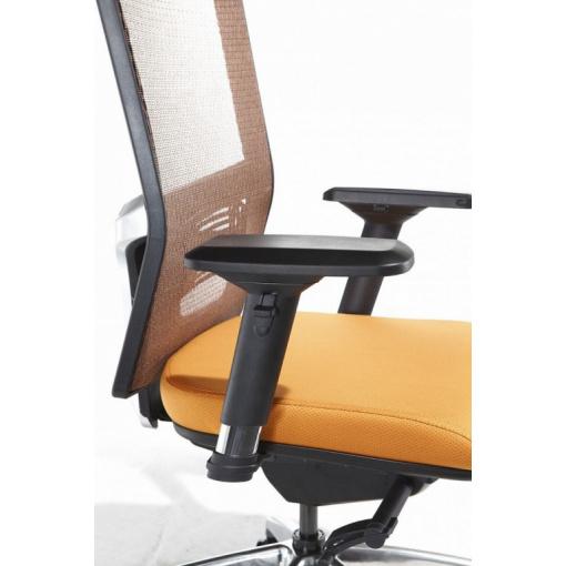 Síťovaná židle Emagra X5 - detail područek 3B