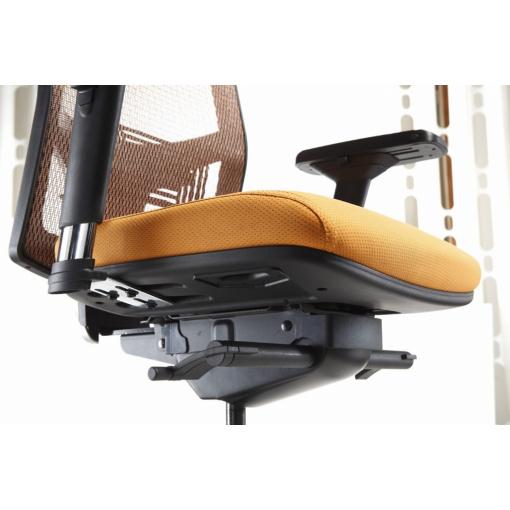 Síťovaná židle Emagra X5 - detail mechaniky F