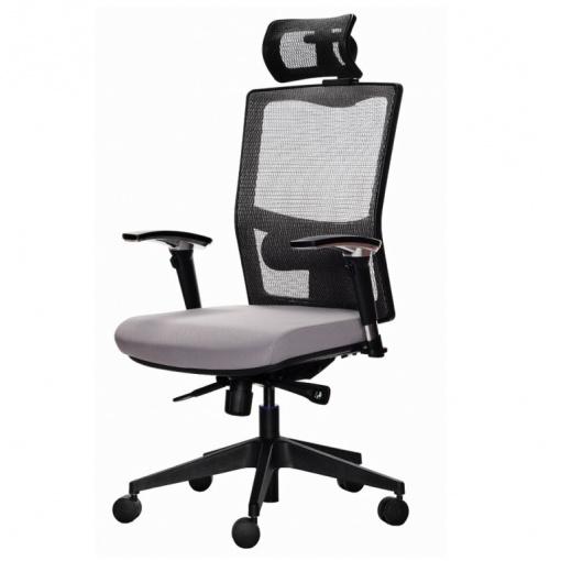 Síťovaná židle Emagra X5 - s podhlavníkem