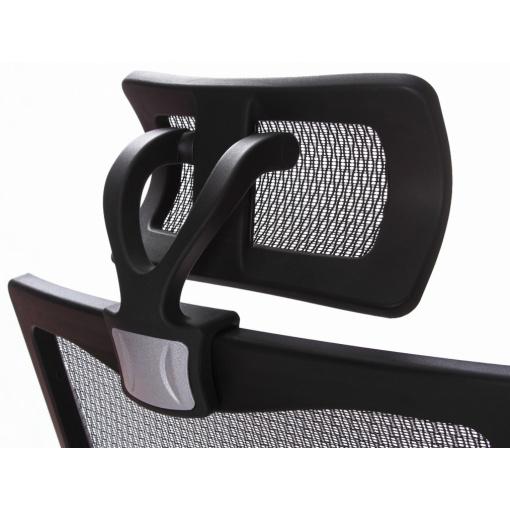 Síťovaná židle Emagra X5 - detail podhlavníku