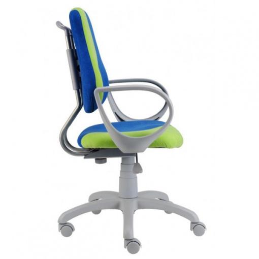 Dětská rostoucí židle FUXO S-LINE - potah Suedine SU7/SU34, područky