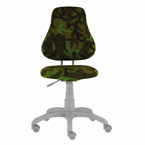Dětská rostoucí židle FUXO ARMY - zepředu