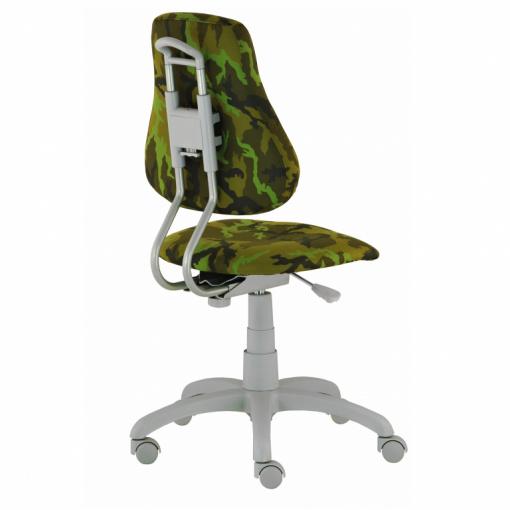 Dětská rostoucí židle FUXO ARMY - zezadu
