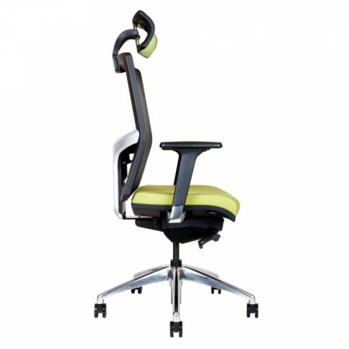Síťovaná židle Emagra X5H - boční pohled