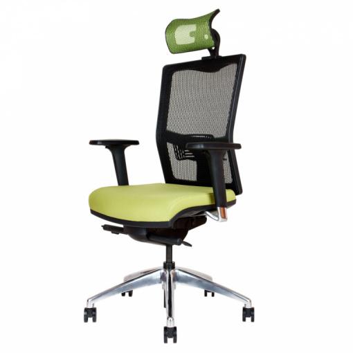 Síťovaná židle Emagra X5H - s podhlavníkem