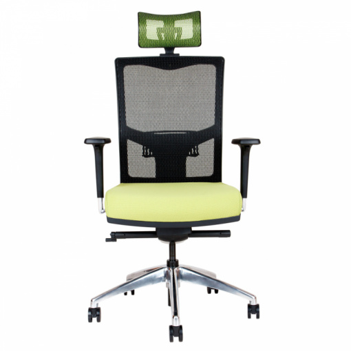 Síťovaná židle Emagra X5H - čelní pohled