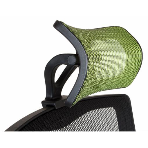 Síťovaná židle Emagra X5H - detail podhlavníku