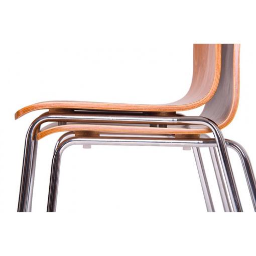 Jídelní dřevěná židle - stohování