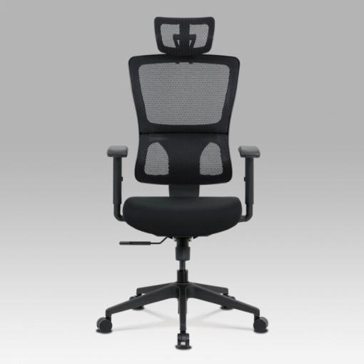 Síťovaná kancelářská židle KA-M04 BK