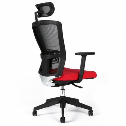 Kancelářská židle s podhlavníkem THEMIS - z úhlu