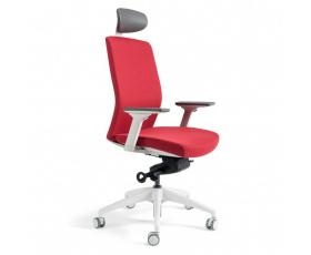 Kancelářská čalouněná židle J2 WHITE SP
