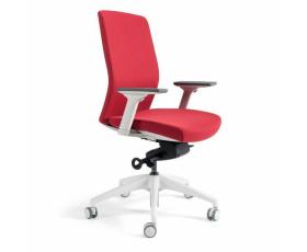 Kancelářská čalouněná židle J2 WHITE BP