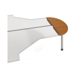 Stůl jednací zakončovací oblouk GP 120