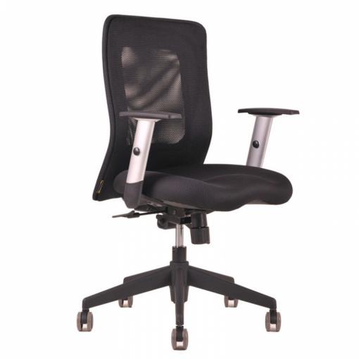 Síťovaná židle CALYPSO - černá