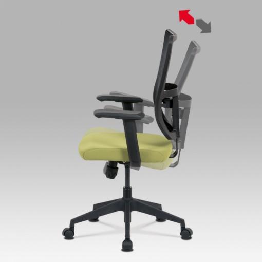 Síťovaná židle KA-M02 GRN - houpací mechanismus