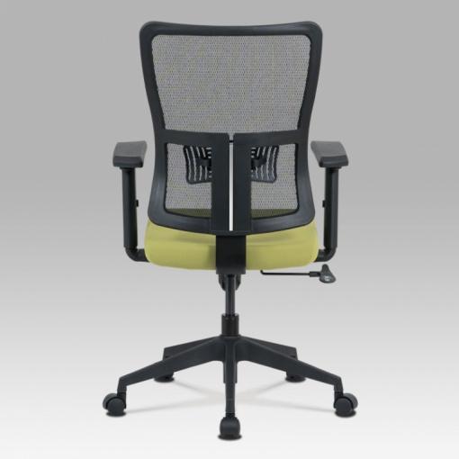 Síťovaná židle KA-M02 GRN - zadní pohled