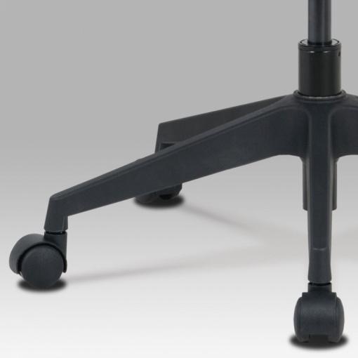 Síťovaná židle KA-M02 - detail kříže a koleček