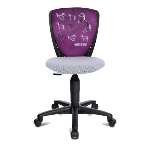 Dětská židle S'Cool NIC potah  JD1 koně
