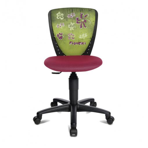 Dětská židle S'Cool NIC potah  JD4 květy