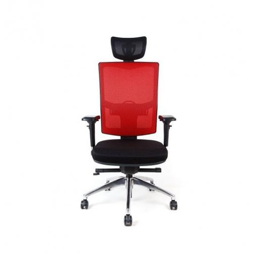 Síťovaná židle Emagra X5 - příplatkové čalounění v látkách Omega (sedák i opěrák)