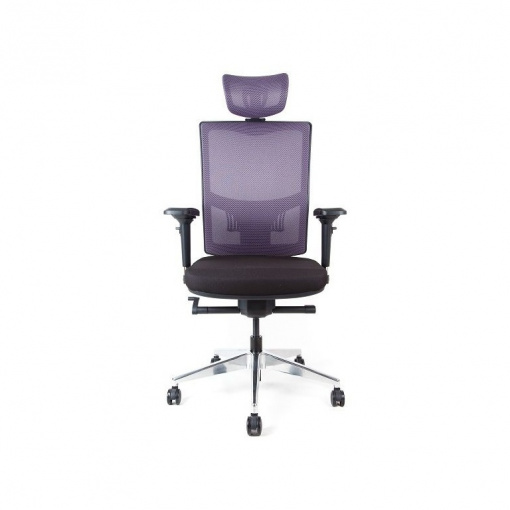Síťovaná židle Emagra X5 - příplatkové čalounění opěráku v látce Omega 65070