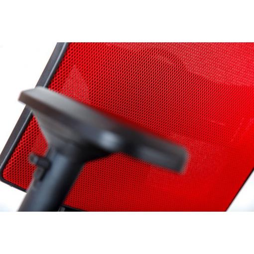 Síťovaná židle Emagra X5 - příplatkové čalounění opěráku v látce Omega 64084