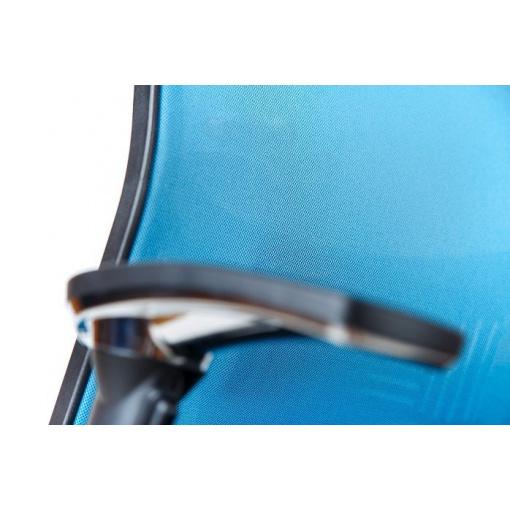 Síťovaná židle Emagra X5 - příplatkové čalounění opěráku v látce Harlequin 66141