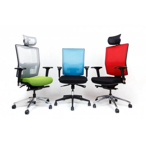 Síťovaná židle Emagra X5 - nové barevné kombinace
