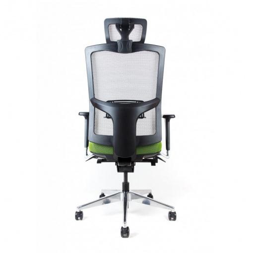 Síťovaná židle Emagra X5H - volitelné černé krytky zad a opěrky hlavy