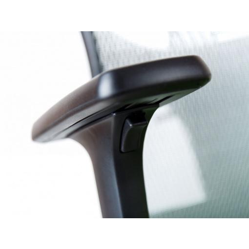 Síťovaná židle Emagra X5H - detail područek Z1