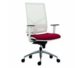Síťovaná židle 1850 SYN OMNIA ALU WHITE