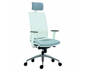 Síťovaná židle 1850 SYN OMNIA ALU PDH WHITE