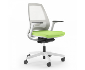 Síťovaná židle 1890 SYN Infinity NET WHITE
