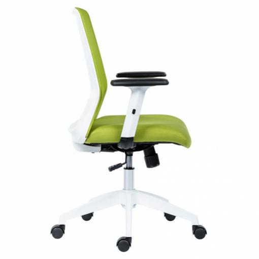 Studentská židle NOVELLO WHITE Green