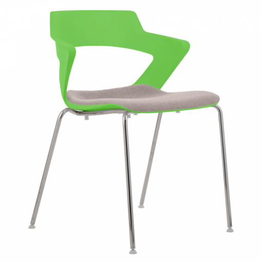 Konferenční židle AOKI 2160 TC SEAT UPH - plast zelená PANTONE 361C