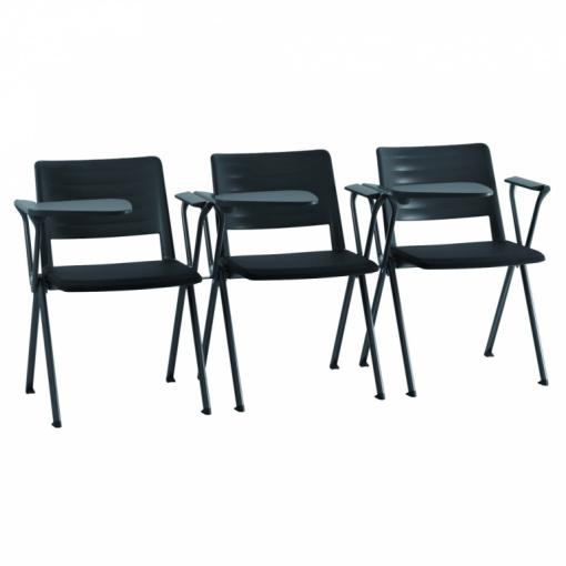 Konferenční plastová židle 2200 RAVE - varianta s područkami