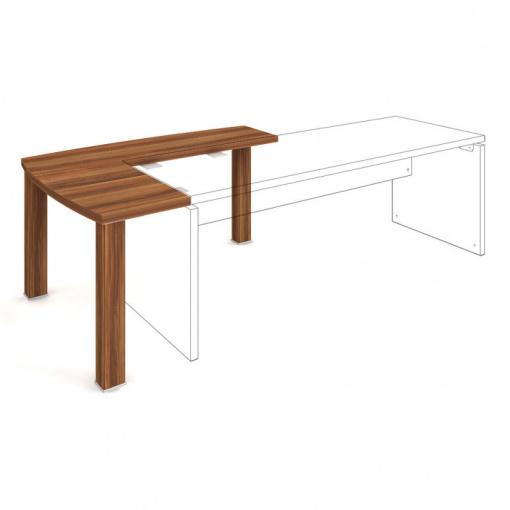 AD 1 140 L stůl doplňkový - schéma napojení