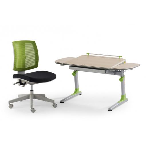 Dětská rostoucí síťovaná židle MYFLEXO a stůl Profi3