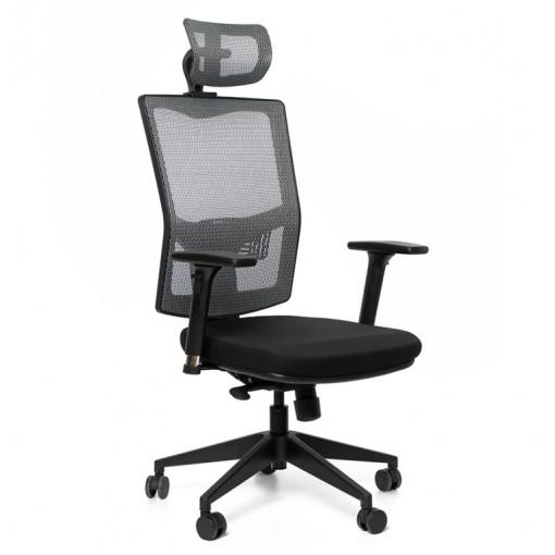 Síťovaná židle Emagra X5 - detail područek 4M