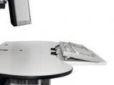 PACS Zobrazovací vozíky - držák klávesnice